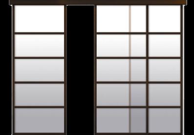 Двери купе - откатные двери на заказ - изготовление раздвижных дверей купе по любым размерам