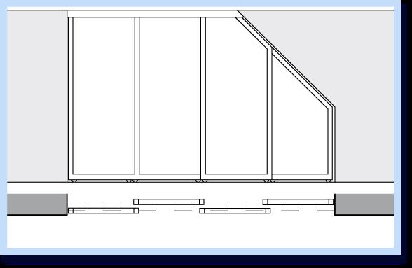 Двери купе для мансардного помещения